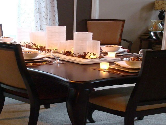 Simple Dining Room Table Centerpieces Dimasummit Com