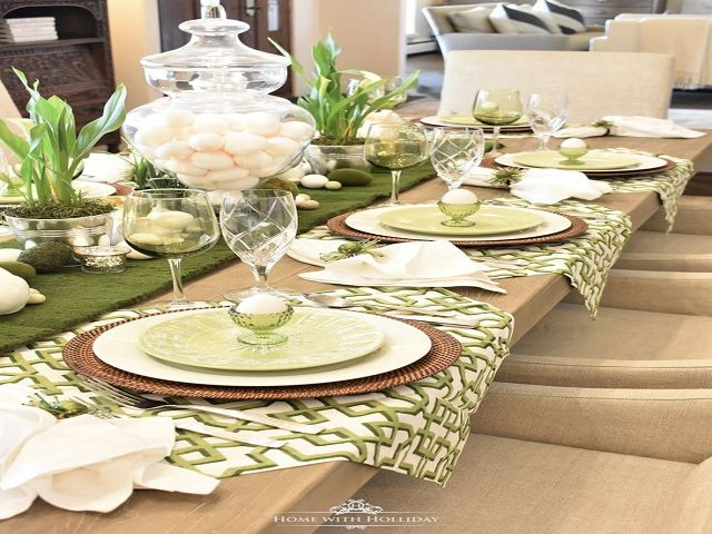 Dining Room Table Setting Decor