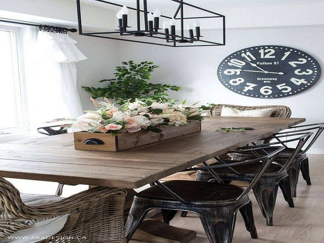 everyday dining table decor