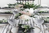 images and photos Dining Room Table Spring Centerpieces