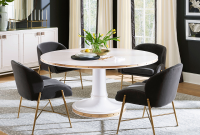 images and photos Round Dining Room Table Centerpieces