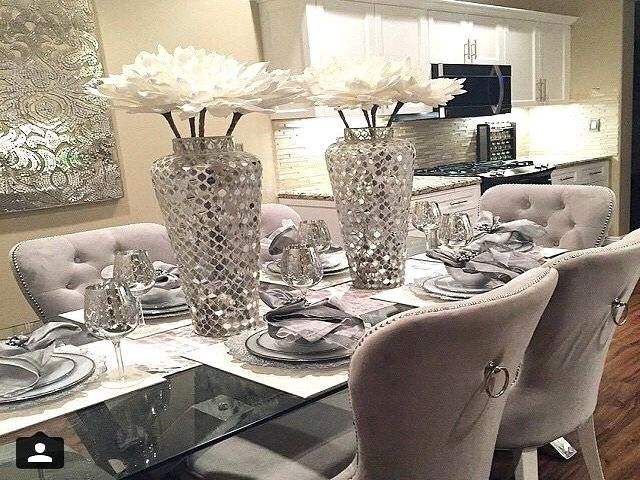 Dining Room Table Decor Modern, Dining Room Table Centerpieces Modern