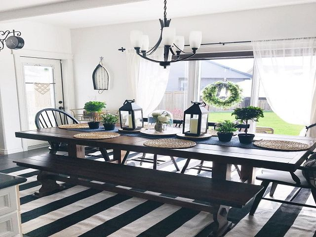 Nautical Dining Room Table Centerpieces
