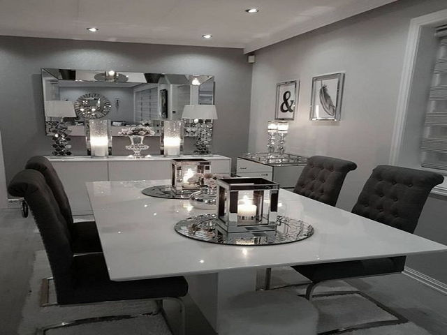 Modern Dining Room Table Centerpiece Ideas