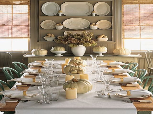 Martha Stewart Dining Room Table Centerpieces