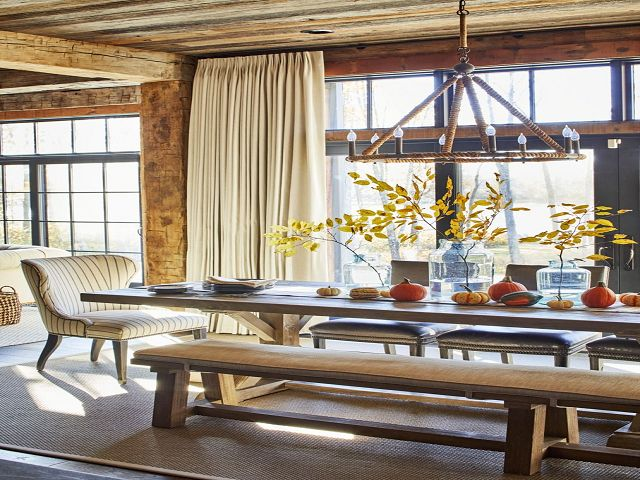 Dining Room Table Decorating Ideas For Fall