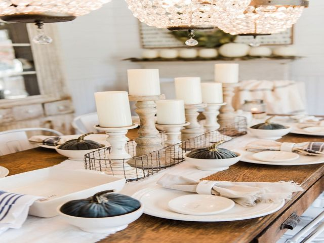 Homemade Dining Room Table Centerpieces