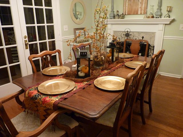 Hgtv Dining Room Table Centerpieces