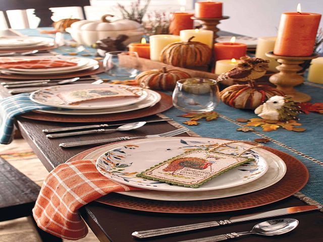 Dining Room Table Decorations For Fall