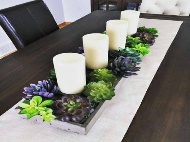Dining Room Table Centerpieces Candles