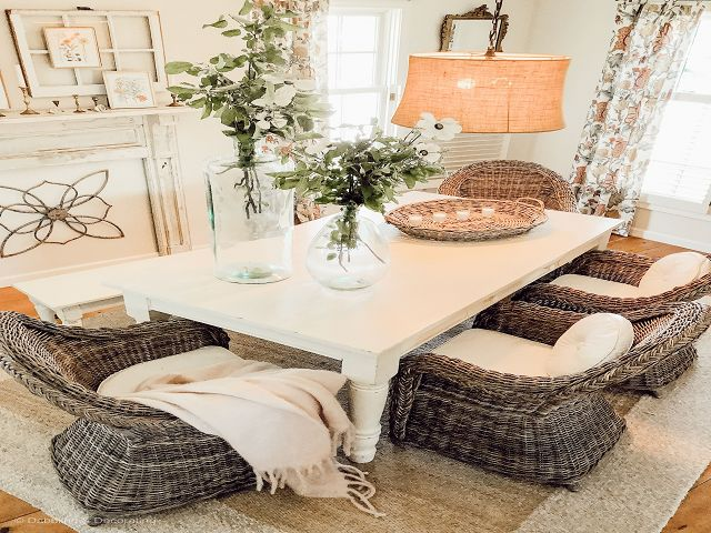 Pottery Barn Dining Room Table Centerpieces