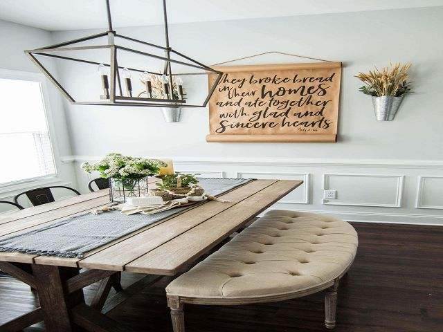 Country Dining Room Table Centerpieces