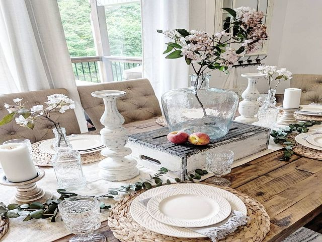 Dining Room Table Decorations For Summer