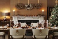 images and photos Dining Room Table Decorations For Christmas