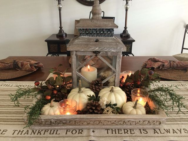 Dining Room Table Centerpieces For Fall