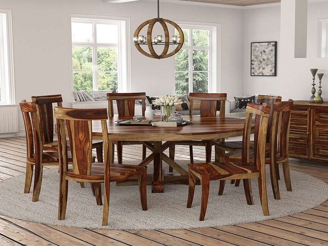 Round Dining Room Tables With Chairs