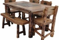 images and pothos Western Dining Room Table And Chairs