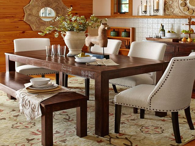 Dining Room Table With Parson Chairs