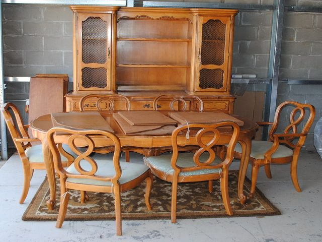French Provincial Dining Room Table And Chairs