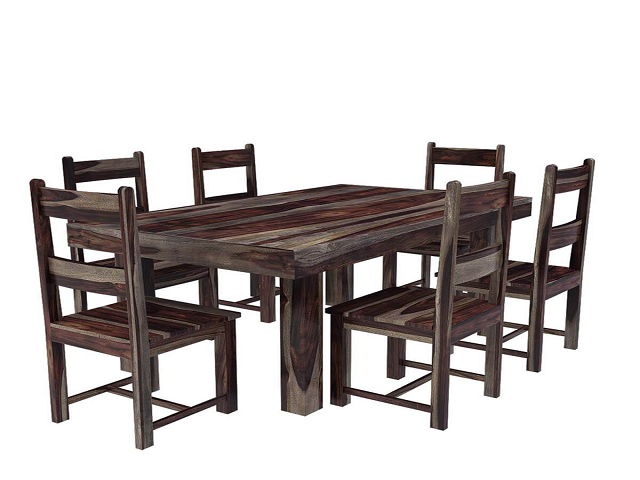 Primitive Dining Room Table And Chairs