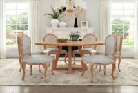images and photos Dining Table And Chairs Shabby Chic