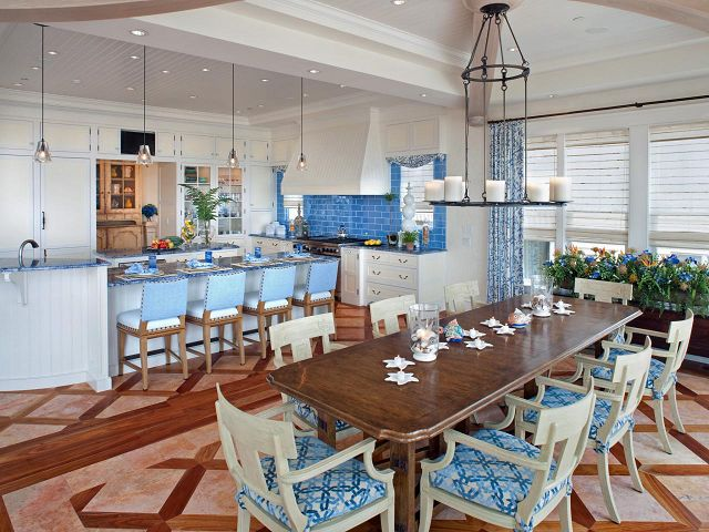 Painted Dining Room Tables And Chairs