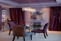images and photos Purple Dining Room Table And Chairs