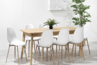 images and photos White Oak Dining Room Table And Chairs