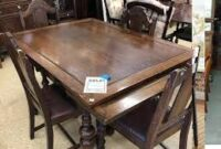photos and images Antique Oak Dining Room Table And Chairs
