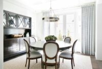 Modern Round Dining Room Tables And Chairs