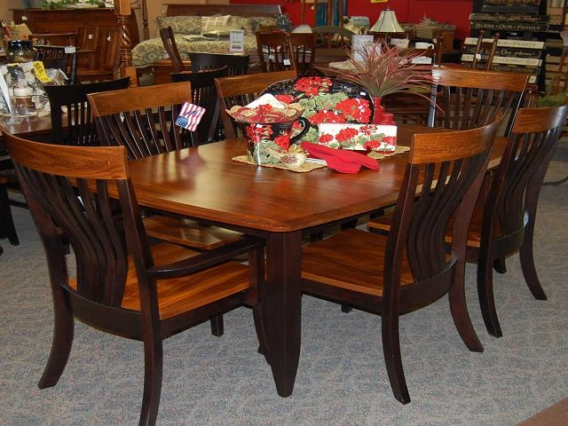 Amish Made Dining Room Tables And Chairs