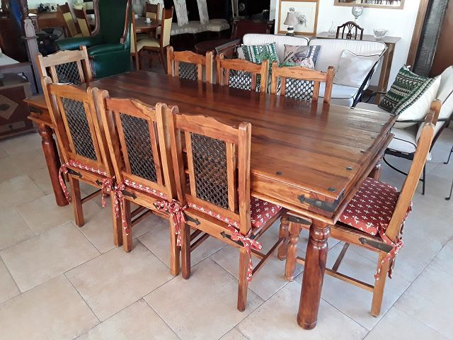 Mexican Dining Room Table And Chairs