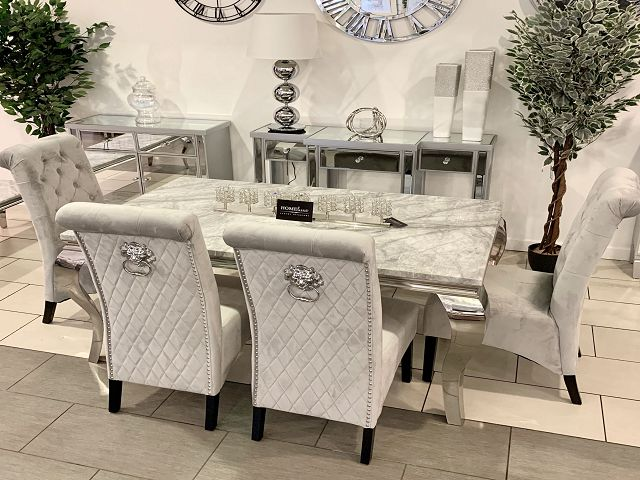 Marble Dining Room Tables And Chairs