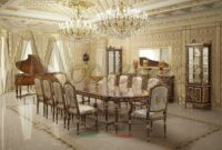 Luxury Dining Room Tables And Chairs