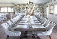Large Dining Room Tables And Chairs