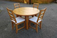 used dining table and chairs for sale near me